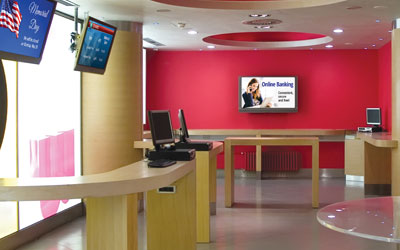 In-Lobby Digital Signage